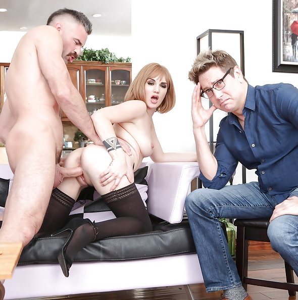 Paris Lincoln cuckold fucking in front of fiancee | Pimp XXX Cucked